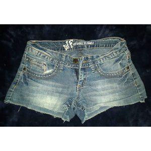 Wallflower Denim Shorts (size 3)